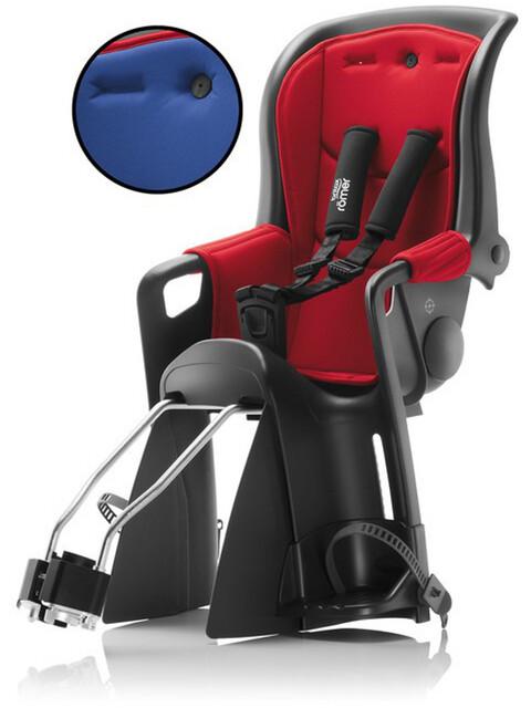 Britax Römer Jockey Relax fietsstoeltje rood/blauw